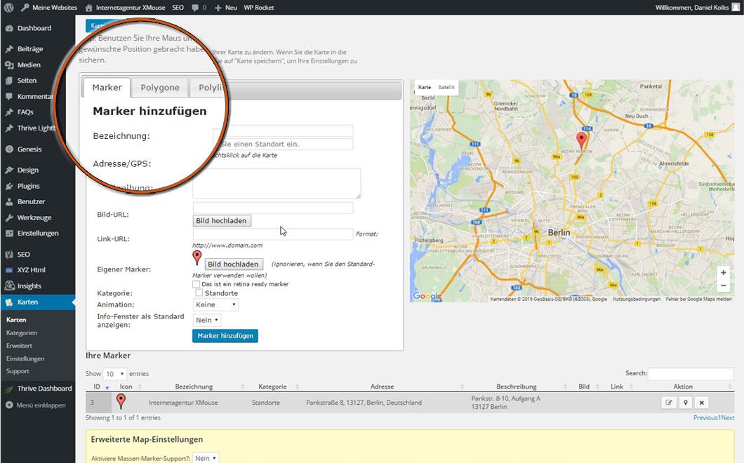 Integrierte Premium-Funktionen bei Homepage-Engel.de