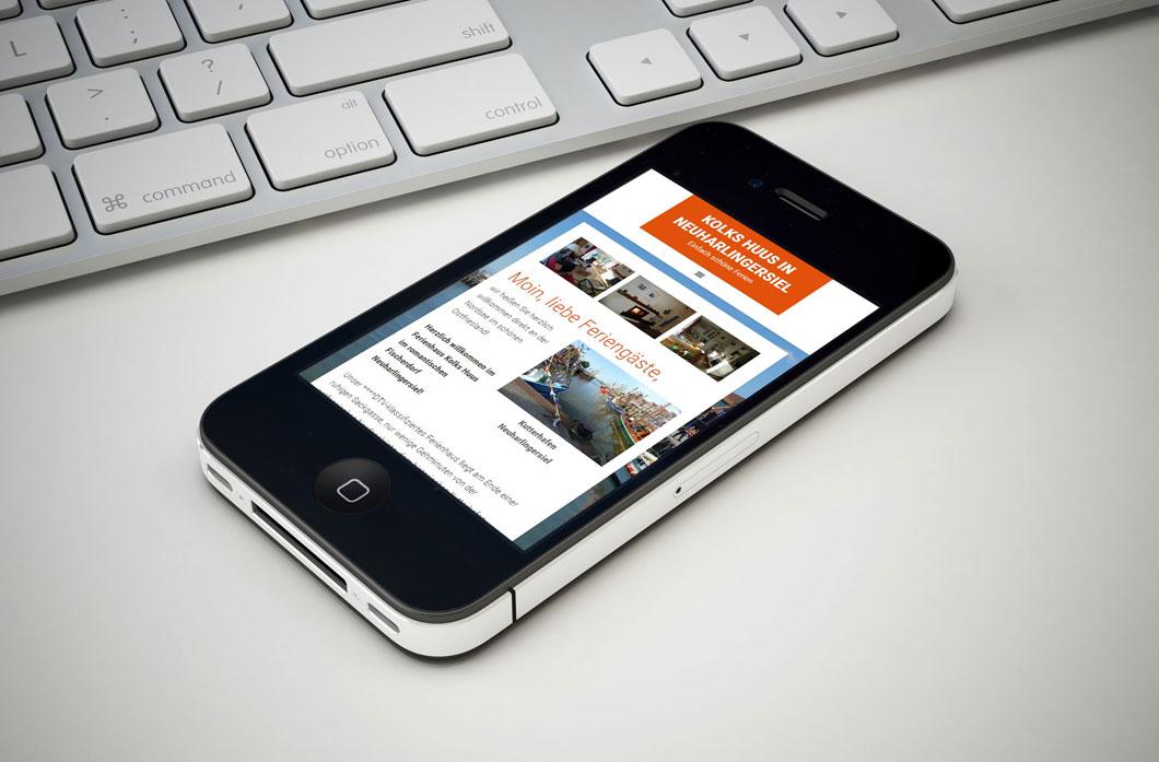 Mobiloptimierung der professionellen Homepages von Homepage-Engel.de