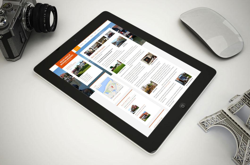 Professionelle Homepage mit voller Ausstattung inkl. Mobiloptimierung.